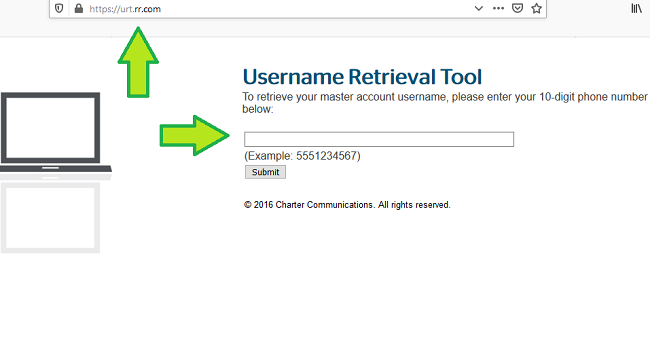 retrieve roadrunner email username