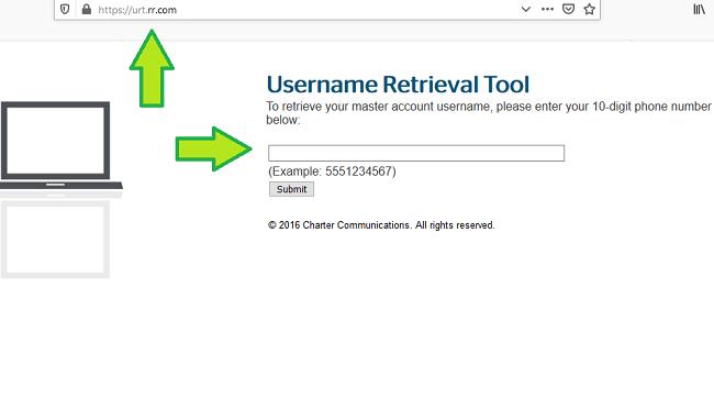 retrieve roadrunner email username
