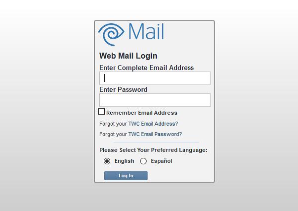 twc mail login